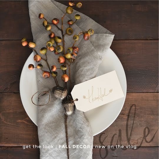 Fall Decor Get the Look - Instagram Post Template
