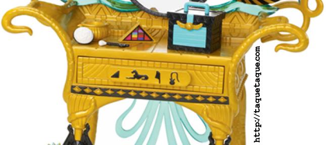 Monster High - Novedades 2012: Tocador para Cleo de Nile