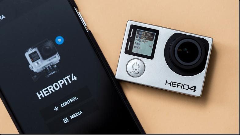 cara menggunakan gopro di smartphone android