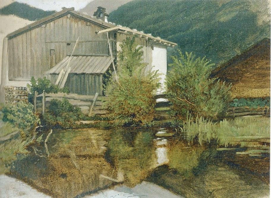 Carl Spitzweg - Die Mühle von Gern