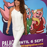 OIC - ENTSIMAGES.COM - Lizzie Cundy  at the  ENTS:  The 3 Little Pigs - VIP performance in London 6th August 2015 Photo Mobis Photos/OIC 0203 174 1069