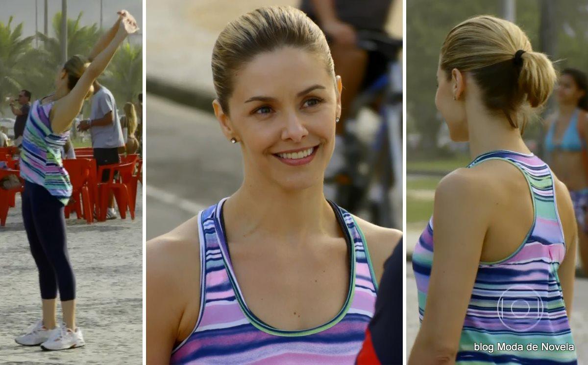 moda da novela Em Família - look da Silvia dia 27 de junho
