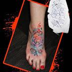 foot - Dragonfly Tattoo