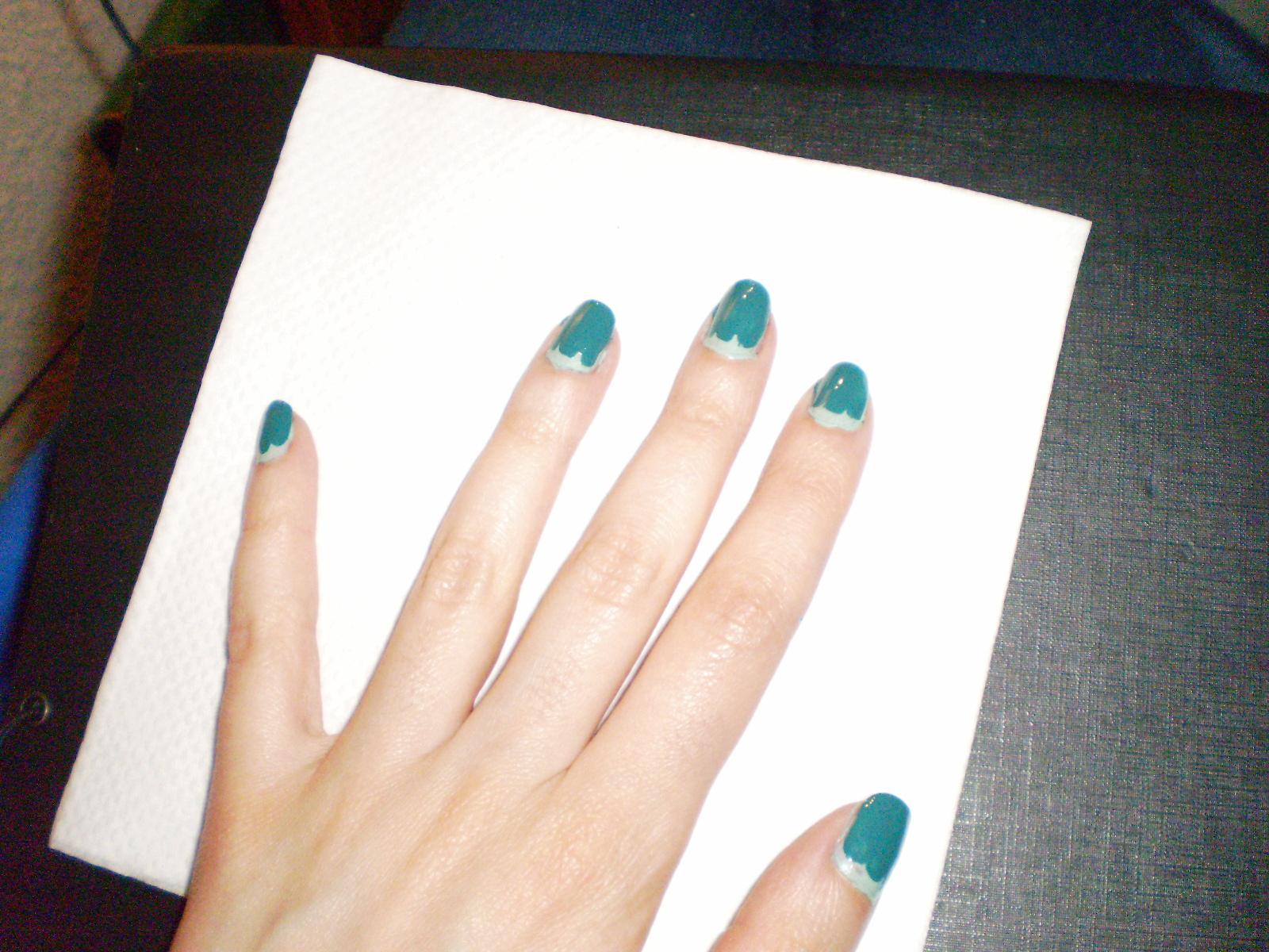 El libro de conjuros de Tita Hellen: Primer tuto de uñas: El mar del ...
