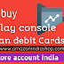 How to purchase Google play console account with Indian debit card|buy Google play console India
