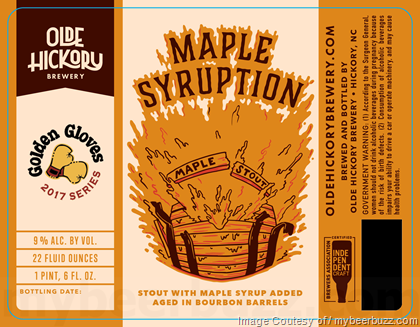 Olde Hickory Brewery Maple Syruption