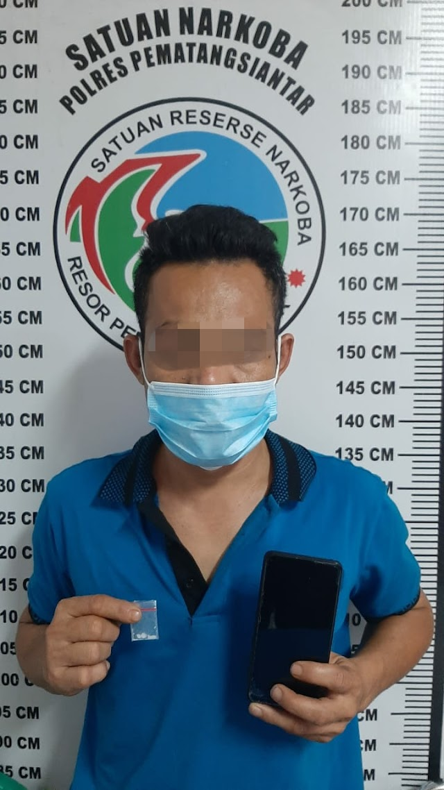 Miliki Shabu 0.40 Gram,Yus Terpaksa Berurusan Dengan Polisi