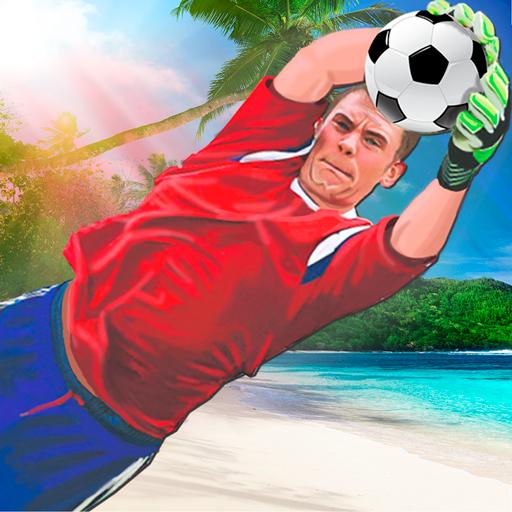 Soccer Goalkeeper - Beach Coast Goalie