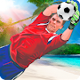 Soccer Goalkeeper - Beach Coast Goalie APK icon