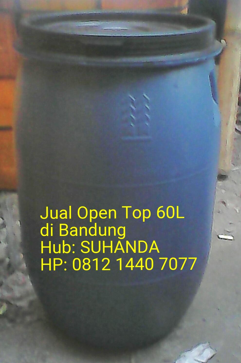 Suhanda Drum Jual Open Top 60L Di Bandung