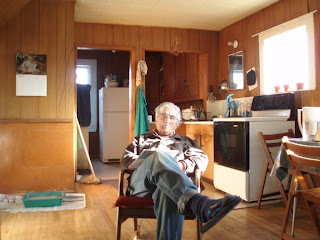 Picture of David Orton sitting in a chair