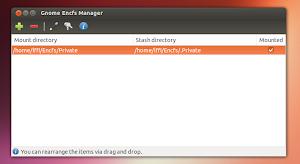 Gnome Encfs Manager criptare cartelle nel nostro desktop Linux