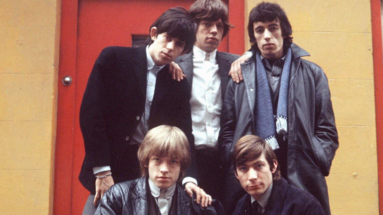 One of the greatest rock bands, British group The Rolling Stones.