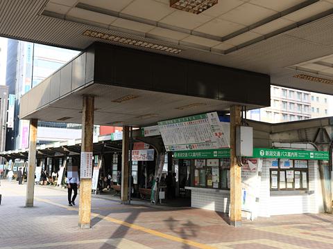 新潟駅前 万代口バスのりば