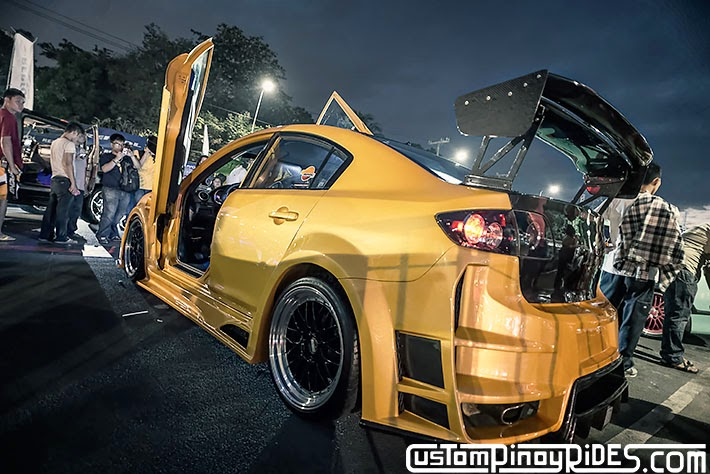 Tricked Out Mazda 3 Bumper 2 Bumper Custom Pinoy Rides Car Photography Manila Philippines Philip Aragones pic1