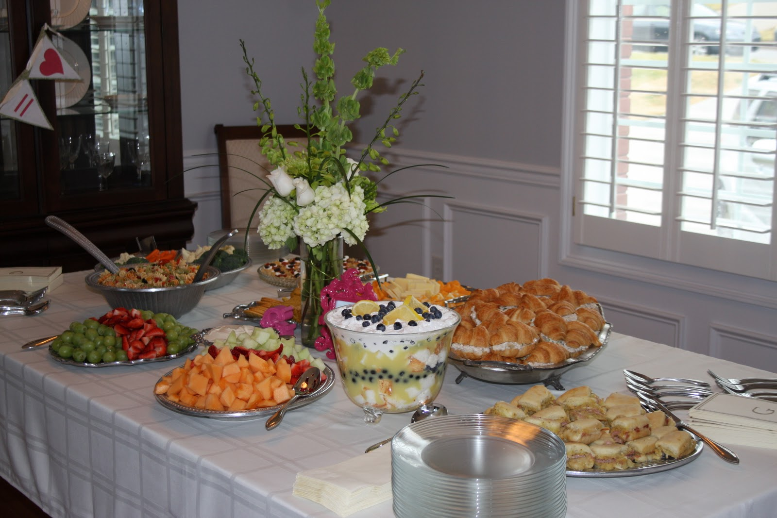 The Kitchen ette Bridal Shower Food Ideas