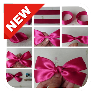300+ DIY Simple Hair Bow Tutorials Step by Step - náhled