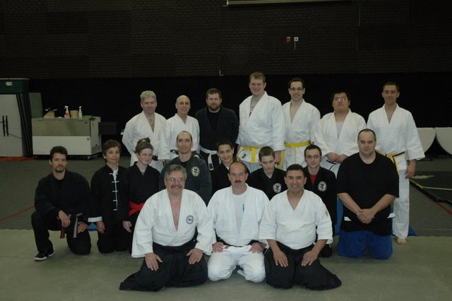 Seminar at Kyuusai Budo Kai, Roanoke, Virginia