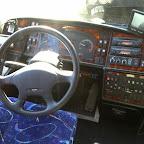 Het dashboard van de VDL Berkhof Axial van Doelen Coach Service