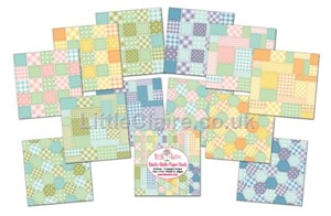 Little Claire Designs - Quirky Quilts paper pack