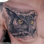 owl head - tattoo designs