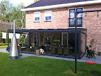 Terrasoverkapping van glas | Nieuw-Vennep