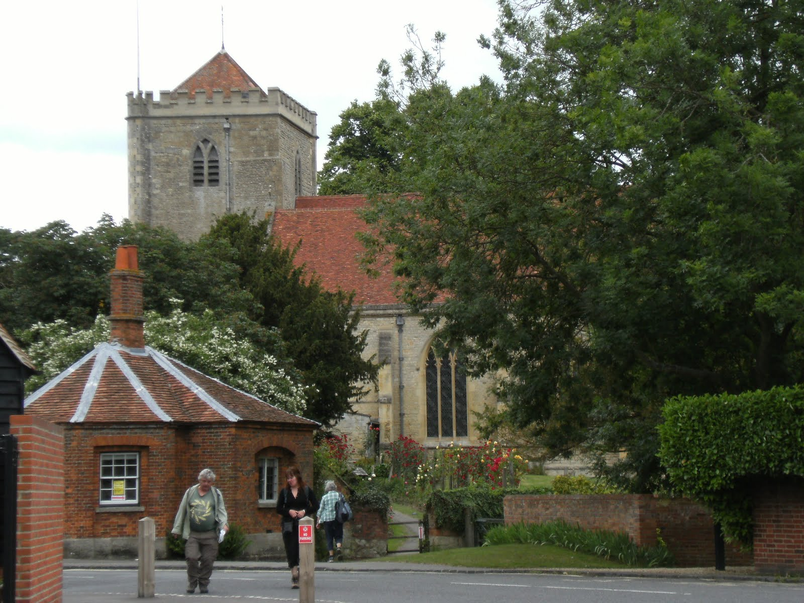1006190017 Leaving Dorchester Abbey