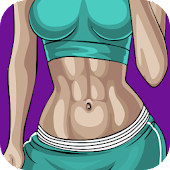 Flat Stomach Workout for Female Icon