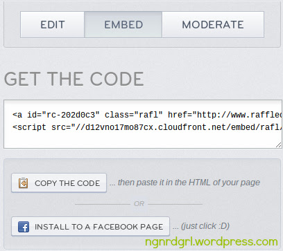 Copy the Code