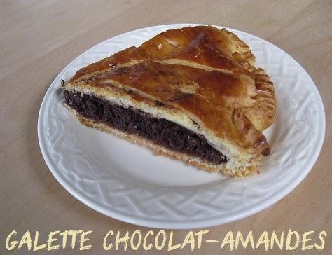 Galette chocolat-amandes