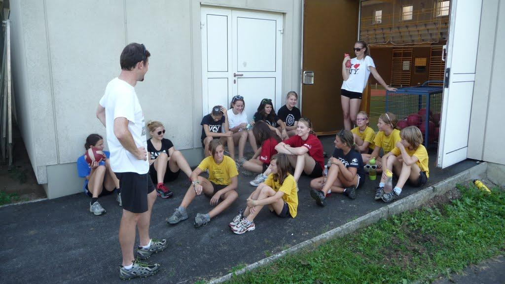 Trainingslager U17/U15 Mädels und Burschen