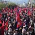 Demonstration in Kathmandu demanding restoration of Hindu Rastra and monarchy