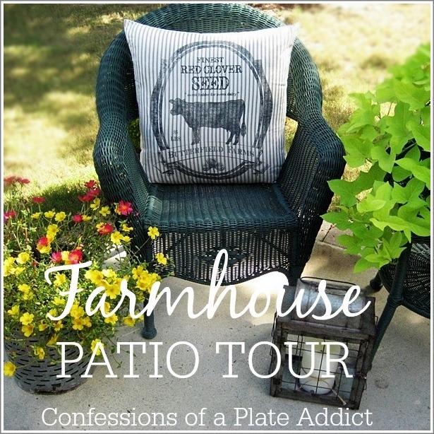 CONFESSIONS OF A PLATE ADDICT Farmhouse Patio Tour