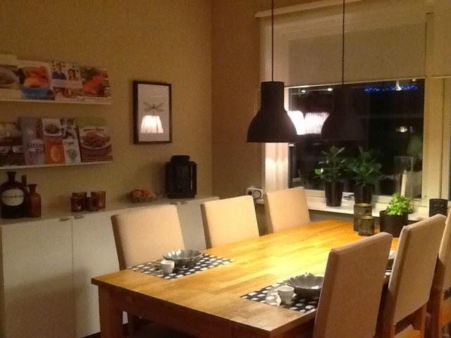 Radhus och Stugas blogg.: Nya lampor i köket!