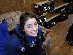 Anna, pre-snowmachine