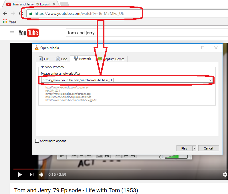 Download youtube videos to desktop free tutorial jinni this is the youtube url i used httpsyoutubewatchvt6 m3mfuue while the video is playing go to tools codec information or press ctrl j ccuart Image collections