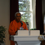 Swami Brahmarupananda delivers the vote of thanks