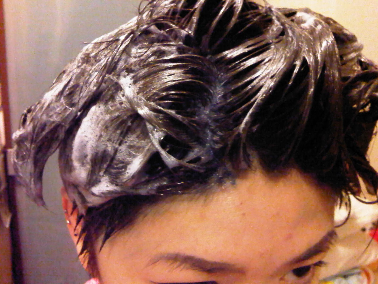 Review On Fresh Light Sugar Ash Foam Hairdye Whychristy Com
