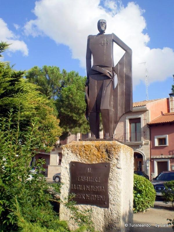 Monumento al Caballero de Olmedo