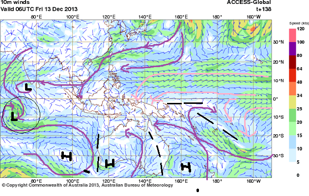 greater asia wind streams 13th dec 2013