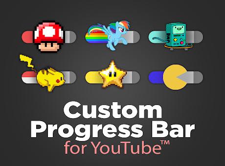 Custom Progress Bar for YouTube™