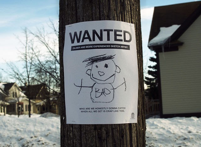 One Liner Jokes About Art : Sketch artist wanted funny and painting posters