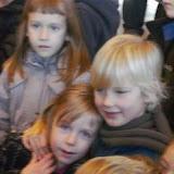 Met deze foto sta ik dan in de nieuwsbrief en op de site van de school hé! :)