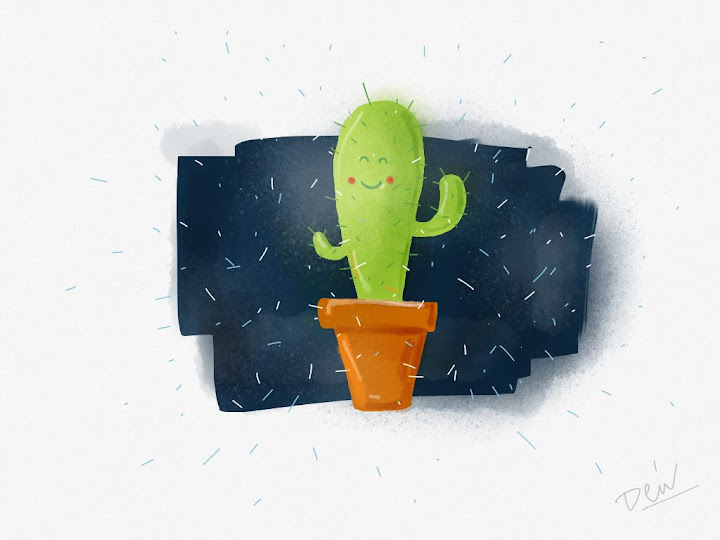 Cactus  made with Sketches