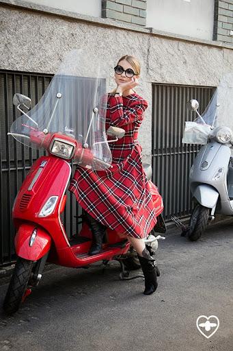 Maria Kolosova; fashion editor; Palini glasses; Sergevi Teblov dress; Laurance Decade boots;