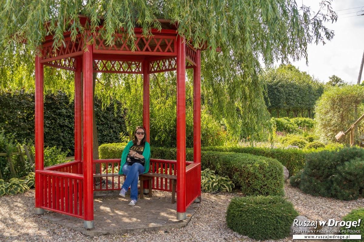 Relaks w Parku Miniatur Ogrodów Frank-Raj