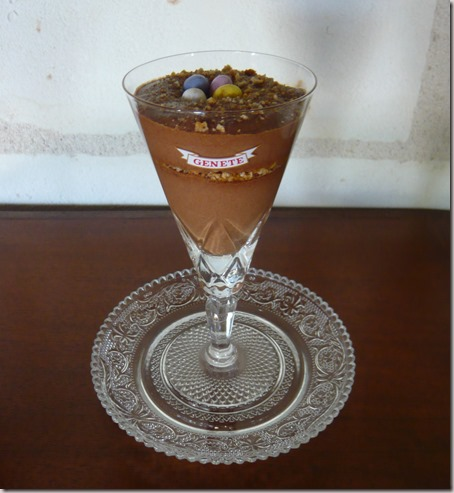 mocha and amaretti mousse2