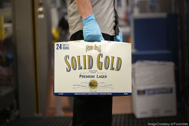 Founders Introduces Solid Gold 24-Packs