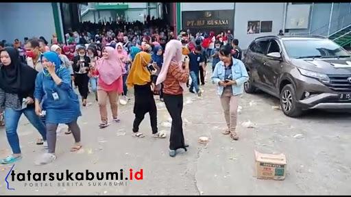 Bingkisan Lebaran Setoples Kue Kacang, Karyawan Garmen di Cicurug Sukabumi Protes Buang Bingkisan