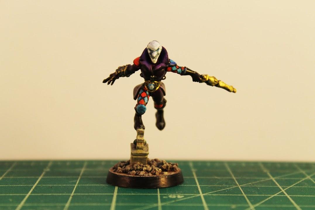 Harlequin Troupe Master, front
